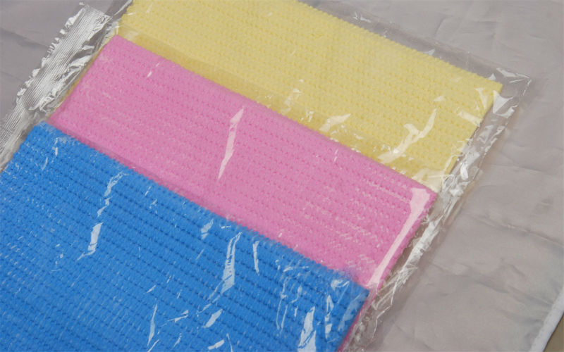 13X17inches concave-convex magic high absorbing dust durable use chamois cloth