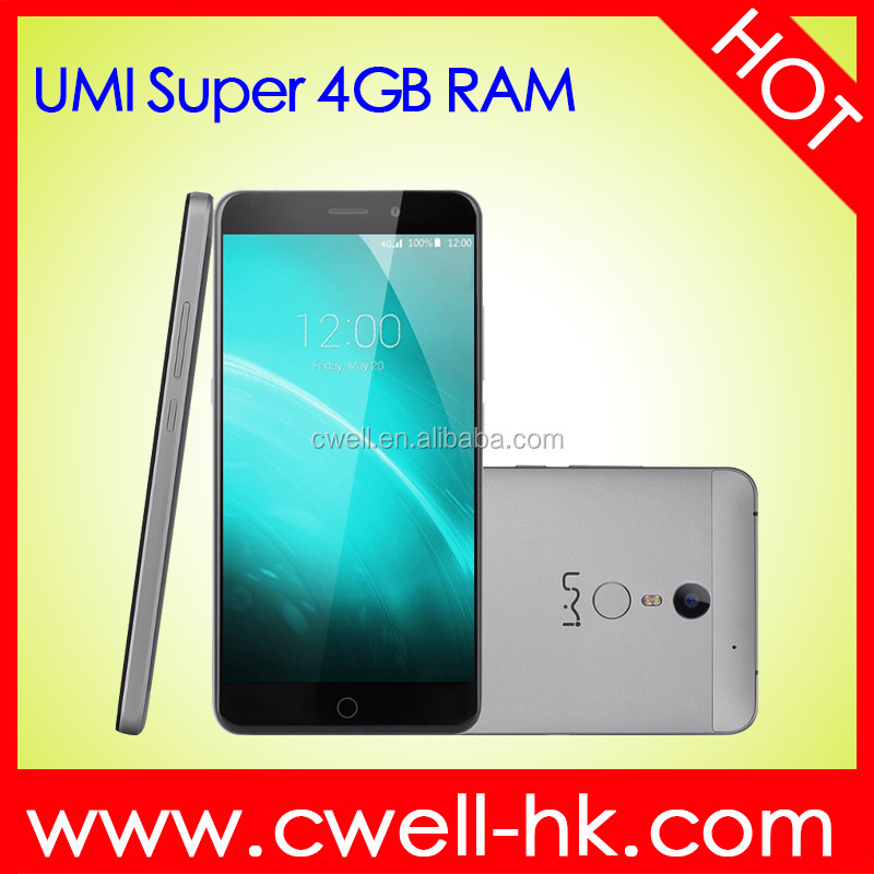 UMI Super 5.5 inch 2.5D Arc Touch Screen MTK6755 Octa Core Android 6.0 Marshmallow 13MP Back Camera 32GB ROM 4GB RAM Cell Phone
