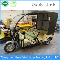110cc passenger using cargo tricycle with roof