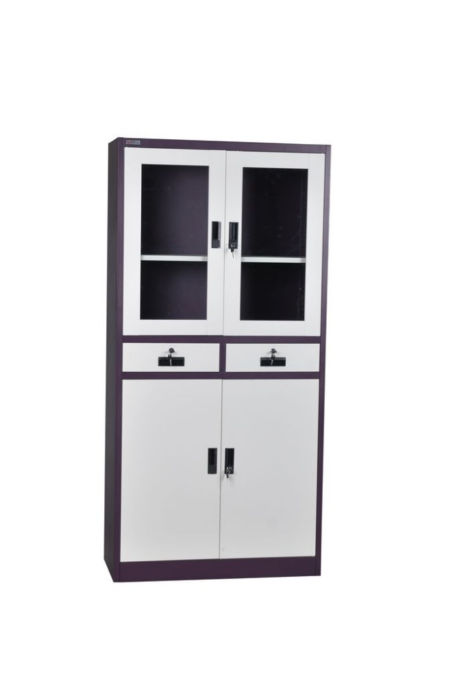 Office furniture knock down used white grey drawing storage cabinet