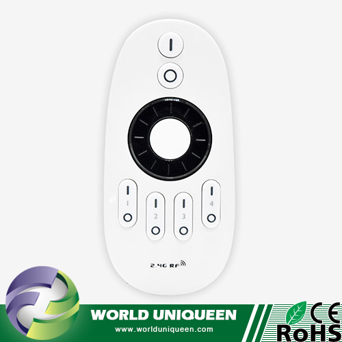 Mi Light FUT006 2.4GHz 4 Zone RF Rotating Wheel Remote for FUT035 / FUT036 LED Dimmer and CCT Controller