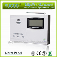 Alarm control panel with 32 wireless / 6 wired zones