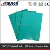 Alusign brushed design acp ceiling tiles aluminum composite panel sheet wall decorative material