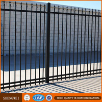 Elegant & High quality galvanized wrought iron fence spears