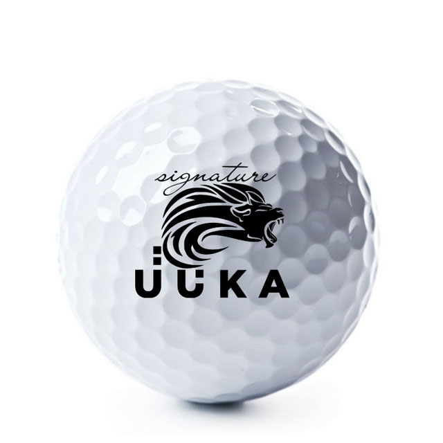 Printed White or Black Practice Golf Balls