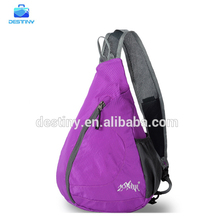 fashionable wholesale multifunctional durable sport triangle sling backpack