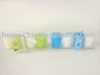 fresh colour scented votive candle gift set