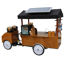 pedal coffee bicycle/coffee tricycle/electric coffee bike for sale