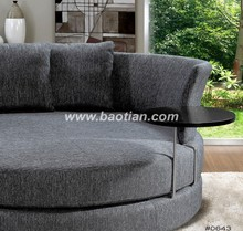 Amercan Style Big Round Seating Fabric Chair