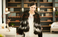 Real Tibet sheep fur coat