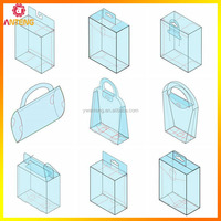 The plastic cosmetic packaging box