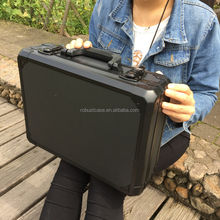 China Manufacturer customized size lockable box Hard Aluminum carrying tool case for equipment or instrument packing