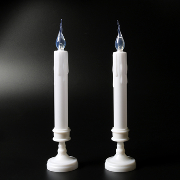 Home decoration LED Taper Candle bright flameless candles lighting