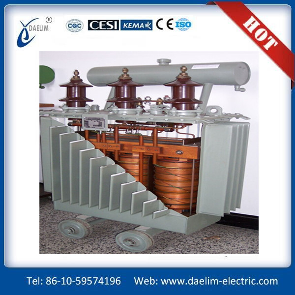 S11-(M) Immersed 2000KVA 10KV grade double winding excitation voltage starting autotransformer