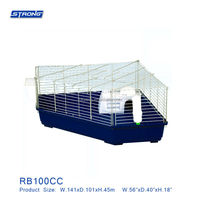 RB100CC (Corner Rabbit Cage)