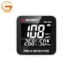 2018 hot-sale product Sndway SW-825 indoor portable weather air monitor PM2.5 detector