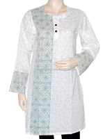 2015 New Style Ladies Long Kurti: 100% Cotton