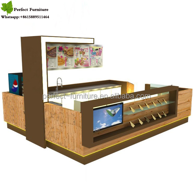 brand funroad coffee kiosk mdf newest style outdoor coffee kiosk prices for hot sale