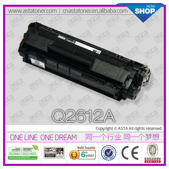 Compatible printer consumables Q2612A for HP 1010 printer