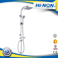 New Design Hot Selling Exquisite Nickel Brushed Modern Design Wall Mounted Shower Panel