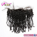 xblhair golden suppliers virgin indian human hair afro kinky curl human hair lace frontal piece