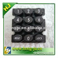 custom silicone gel keypad