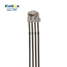 Top quality 5mm RGB straw hat flat top 4 pin led diode with factory price