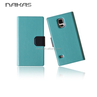 PU Leather Case Flip Phone Case Factory In Guangzhou For Samsung Galaxy S5