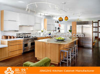 Easy fitted kitchen cabinet made in china