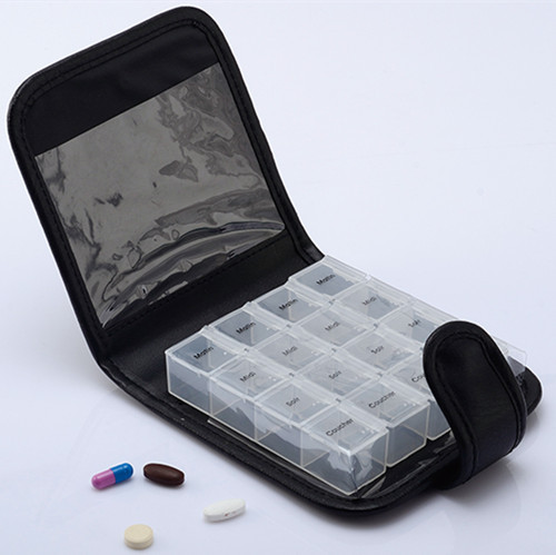 FDA approved travel weekly pill case home care pill container trave tablet storage