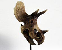 Western carving resin animal skull for gift decoration