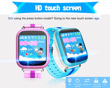 "1.54"" Touch Screen Bluetooth 3.0 SIM Card GSM Calling Function Wrist Watch GPS Tracking Device Kids GPS Watch Phone for Kids"