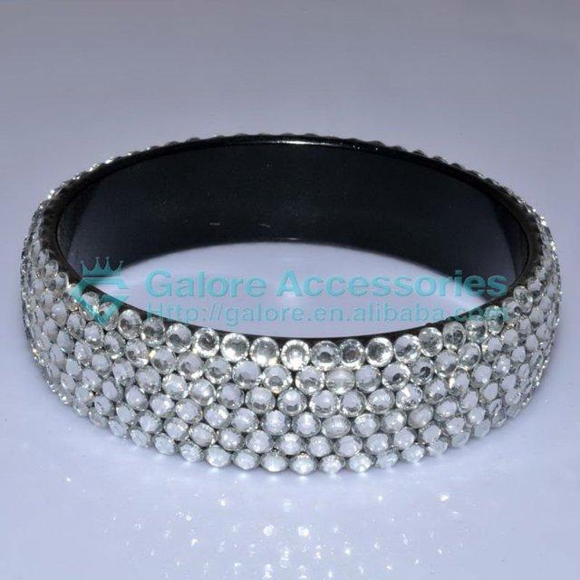wholesale cheap plastic pave rhinestone bangle