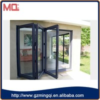 brazil store high quality four folding glass doors prices