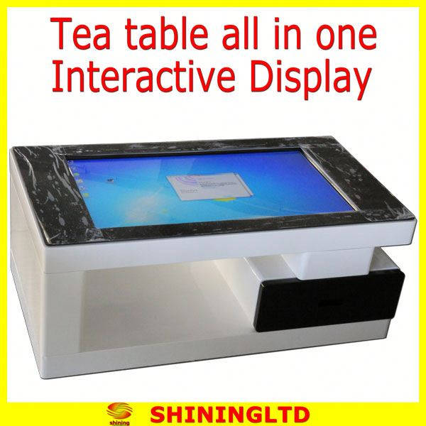 touch screen led monitor retail store video display