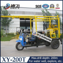 Hydraulic Surface Exploration Core Drilling Rig, XY-200T hydraulic drilling rig for sale!