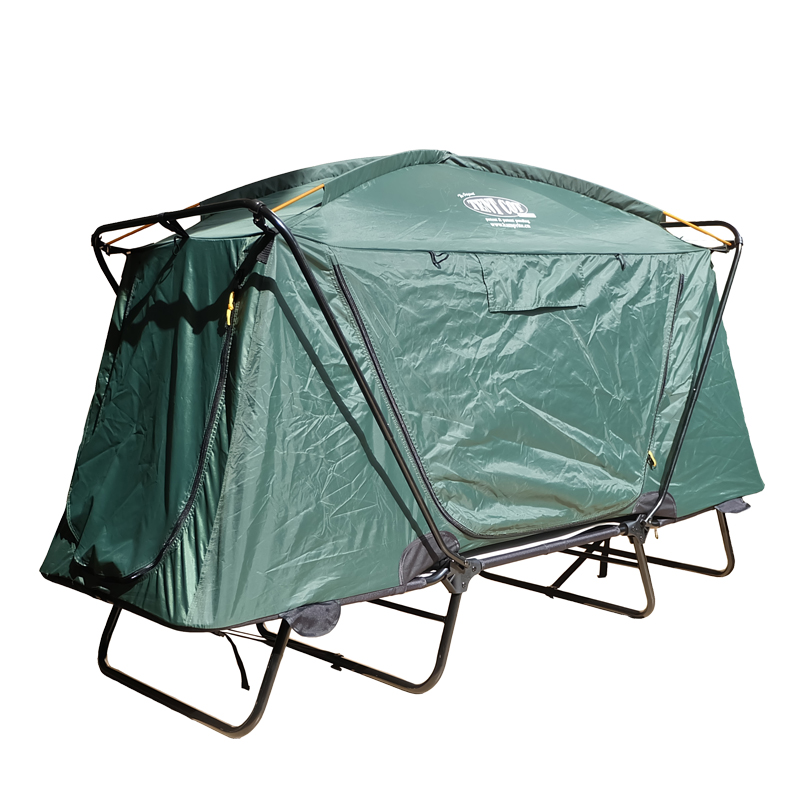 Pvc Green Auto Camping Tent For Hiking
