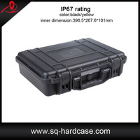shockproof watertight plastic transport case for equipments