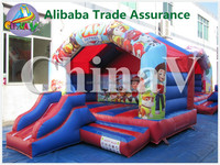 Commercial inflatable party jumper,inflatable bouncer with slide combo,used bounce house for sales craigslist