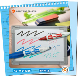 Custom Best Jumbo Twin tip Dry Erase Whiteboard Marker