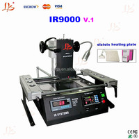 LY IR9000 V.1 BGA Rework Station with Germany original Elstein heating plate,for laptop, desktop, ps3, xbox360 chipset repairing