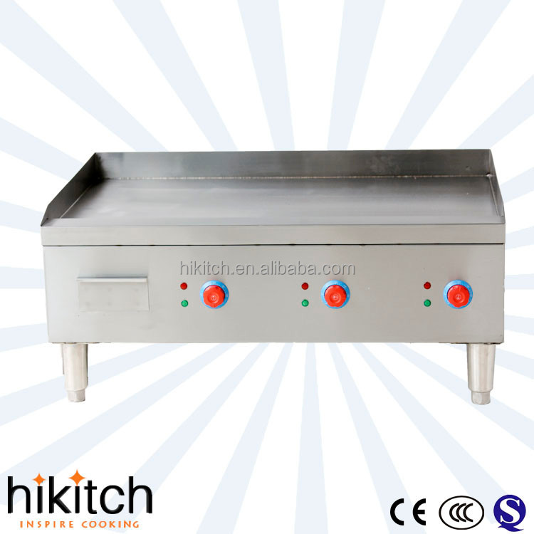 commercial electric plate 91*60 dosa Griddle teppanyaki with 3 temp control.