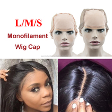 Top L/M/S MONO Wig Caps For Making Wigs With Adjustable Strap Durable Strong Mono Lace Front Cap Hair Nets