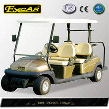 Solar electric car mini used golf car with 4 seats