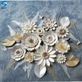 New product mix size wedding decorative backdrop flower wall artificial paper flower with freight