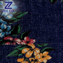 Made in China Good Quality Egyptian Cotton Fabric High Density Denim Jeans Wholesale Printed Denim Fabric