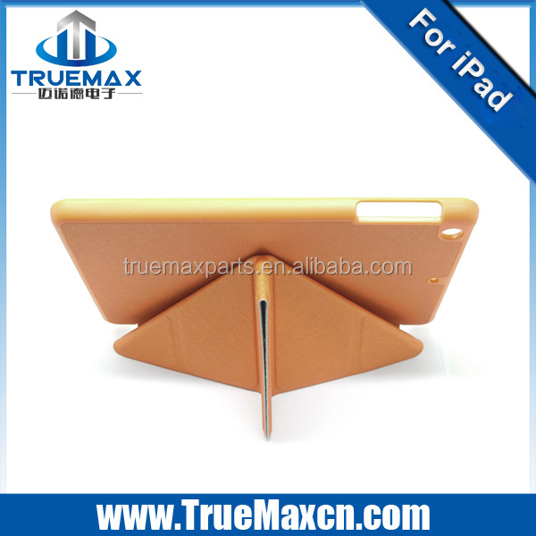 Best quality flip leather case for iPad mini, for iPad mini stand case ,Cheap price!