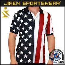 polo shirt american flag polo shirt 100% polo t-shirt xxxl us size