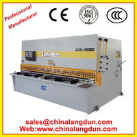 Anhui LANGDUN nc metal CNC guillotine plate shearing machine QC12Y series with service after sale