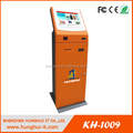 Free Standing Touchscreen LCD Kiosk Machine / LCD Payment Kiosk Terminal